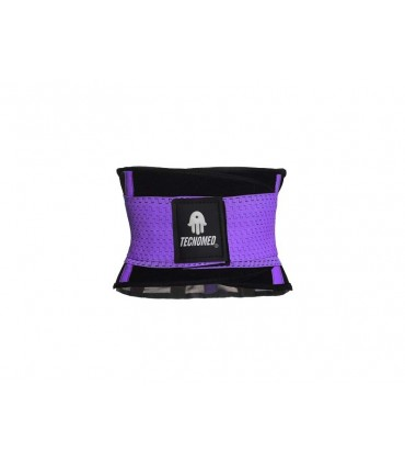 Purple Weightlifting belt and Shaper (Faja Tecnomed color Lila - morado)