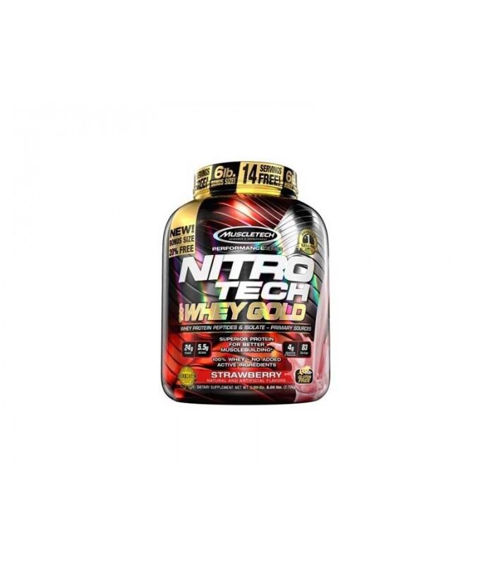 Nitro Tech 100% Whey Gold 6lb