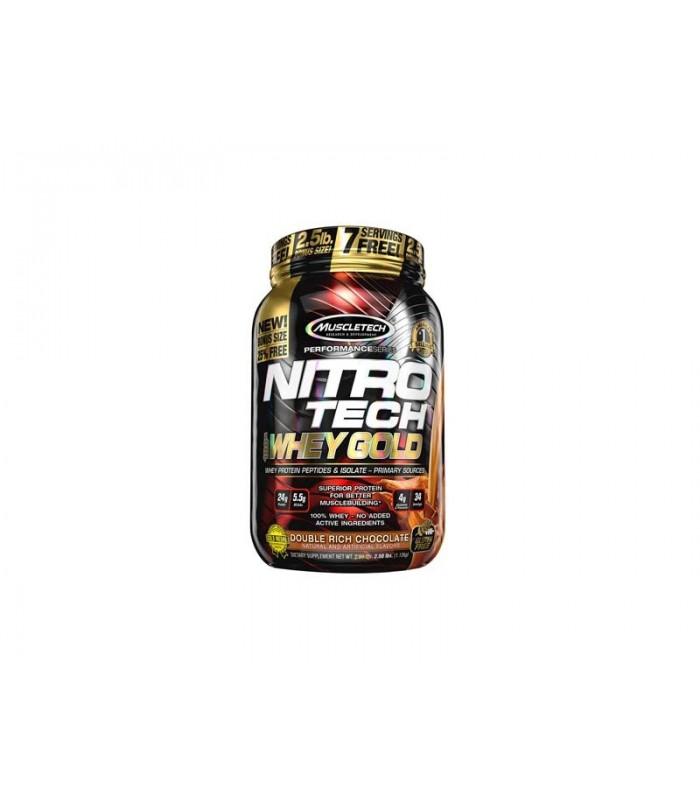Nitro Tech 100% Whey Gold 2.5 lb