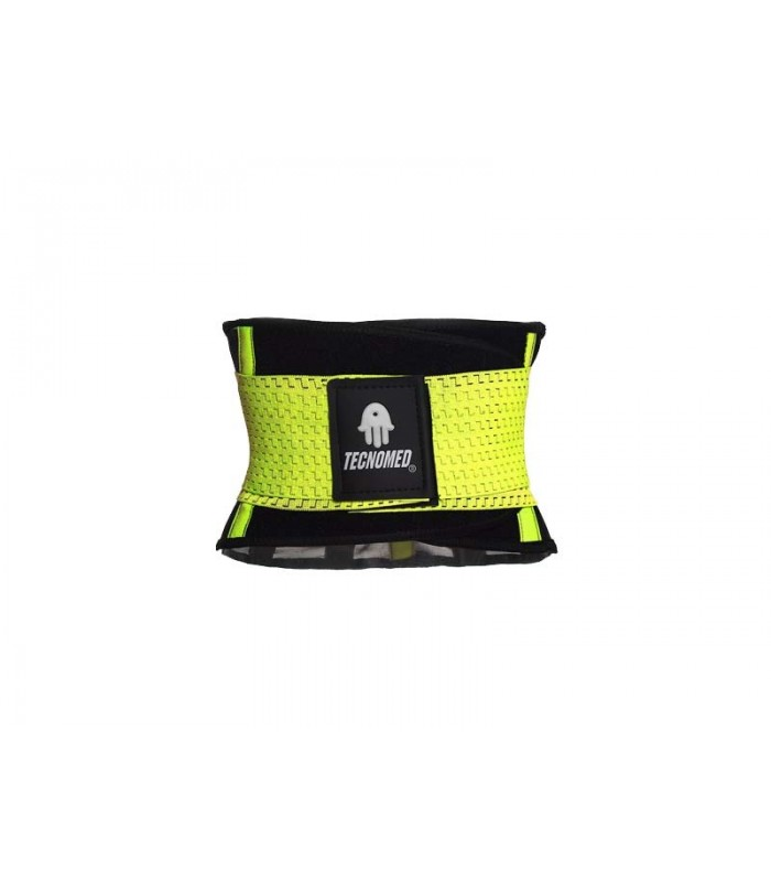 Yellow Weightlifting belt and Shaper (Faja color amarillo)