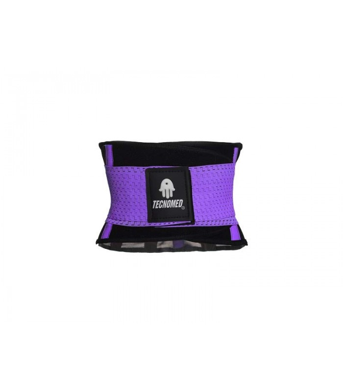 Purple Weightlifting belt and Shaper (Faja Tecnomed color Lila - morado)