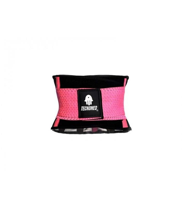 Pink Weightlifting belt and Shaper (Faja Tecnomed Rosa)