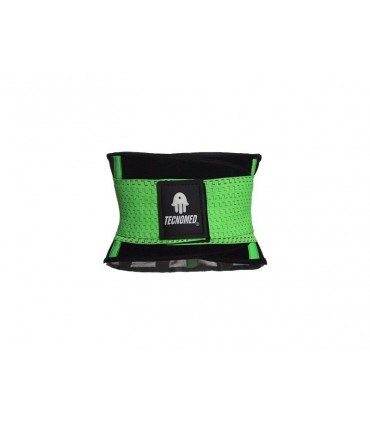 GREEN WEIGHTLIFTING BELT AND SHAPER (FAJA COLOR VERDE)