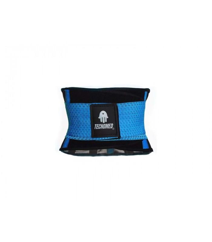 Blue Weightlifting belt and Shaper (Faja color azul)