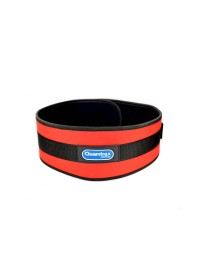 CINTURÓN ROJO DE NEOPRENO (RED FITNESS BELT)