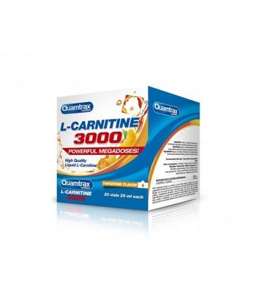 L-CARNITINE 3000 20X25 ML (QUAMTRAX)