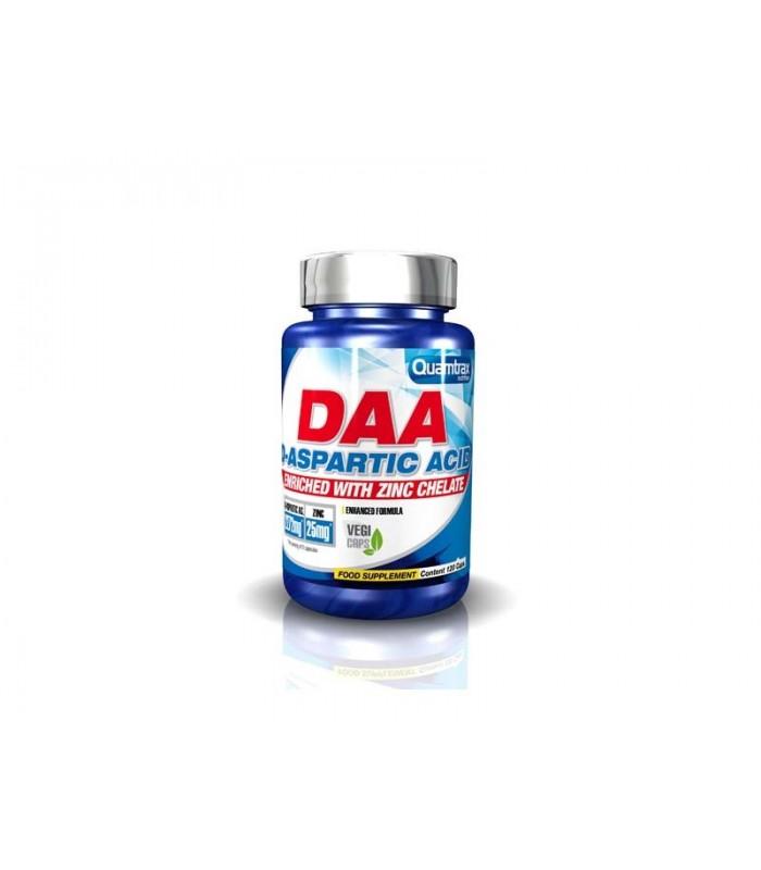 DAA D-ASPARTIC ACID (WITH ZIN CHELATE) 120 CAPS