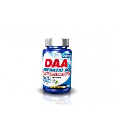DAA D-ASPARTIC ACID (WITH ZINC CHELATE) 120 CAPS