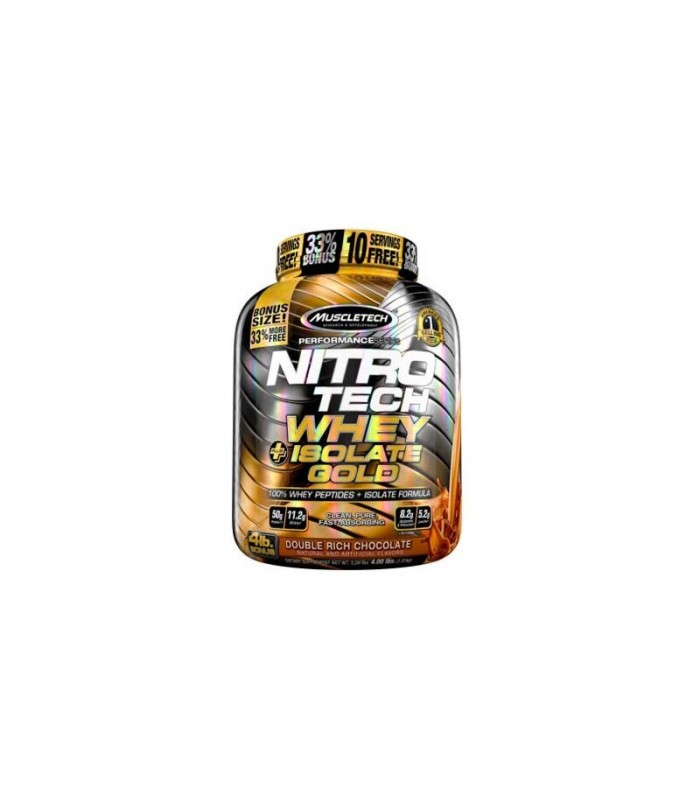 NITRO TECH WHEY + ISOLATE GOLD BONUS 1,81 KG