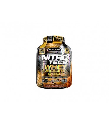 NITRO TECH WHEY PLUS ISOLATE GOLD 1,81 KG (MUSCLETECH)