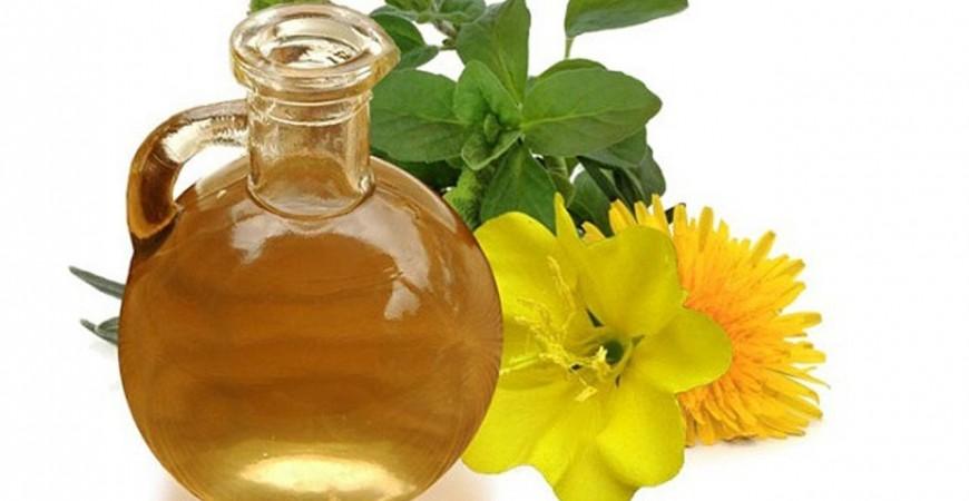 Evening primrosa oil. Aceite de onagra