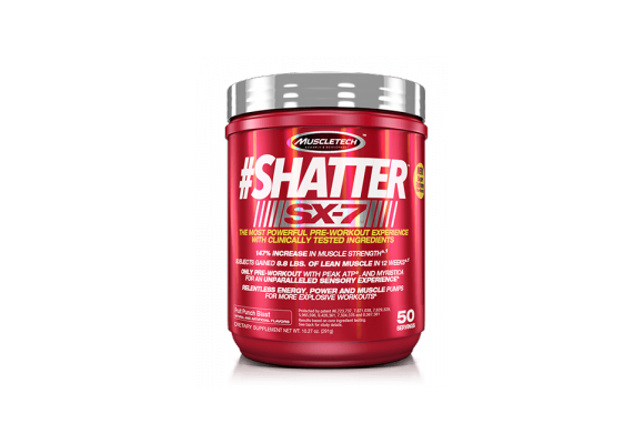 Nuevo Pre-entreno SHATTER SX-7