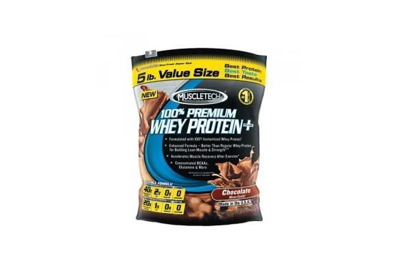 100% Premium whey protein plus Muscletech