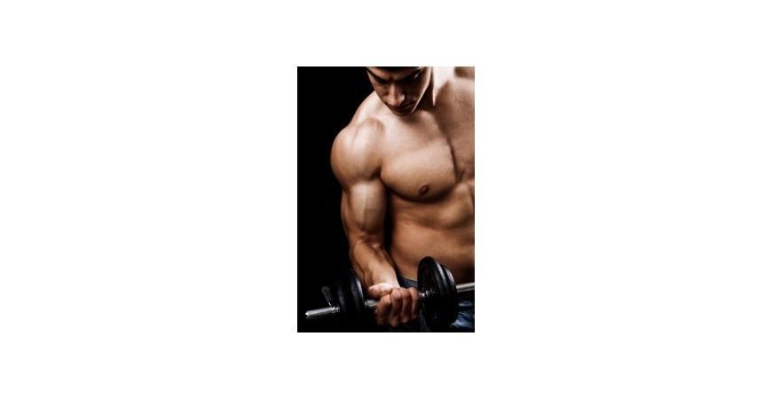 Rutina de 5 días para ganar fuerza y volumen muscular
